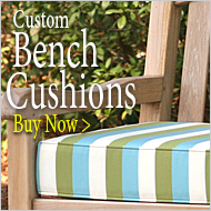Custom Bench Cushions - Buy Now