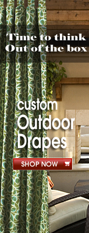 Custom Outdoor Drapes from OutdoorDrapes.com