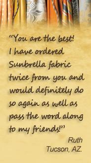 Sunbrella Fabric Testimonial