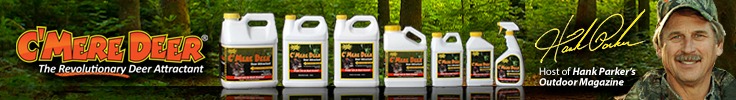 Hank Parker Cmere Deer Attractant