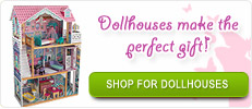 Dollhouses make the perfect gift!