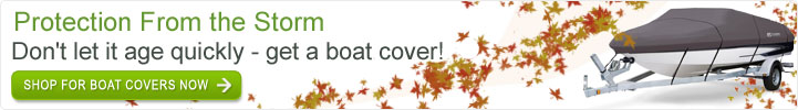 Boat Covers - Protection From the Storm, don't let it age quickly - get a boat cover!