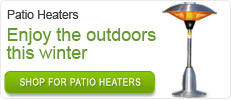 Patio Heater - Enjoy the outdoors this winter