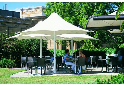 Commercial Umbrellas | Large Windproof Outdoor Umbrellas by Skyspan
