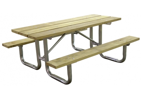 Foot Picnic Table Plans http://projectplans.net/picnic-table-plans/8 ...
