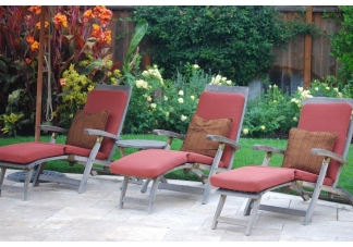 outdoor patio cushions, Sunbrella cushions