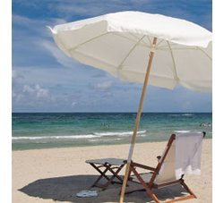 Umbrellas|7.5' Beach Umbrella with Sunbrella® Cove